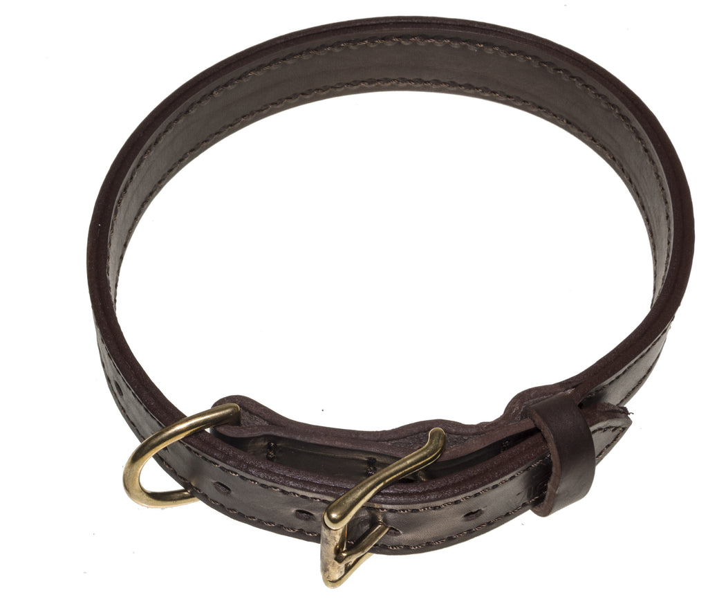 Viper Two-Ply Leather Collar