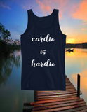 "Imperialtop ""cardio is hardio"" Ladies' Tank"