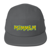 "Imperialtop ""Married 2 Music, Money & Marijuana"" 5 Panel Camper Hat"