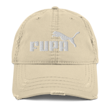 "Pound Coach ""Fupa"" Distressed Dad Hat"