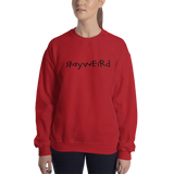 "alan evergreen ""stayweird"" sweatshirt"