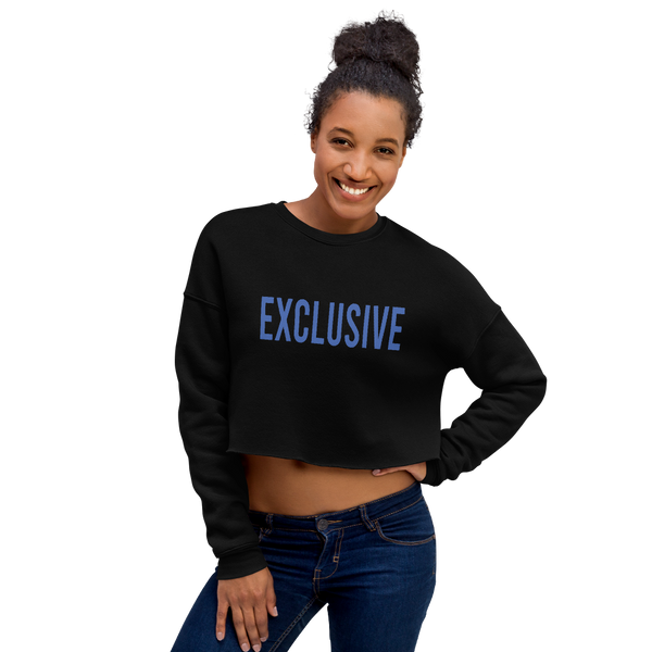 "alan evergreen ""exclusive"" crop sweatshirt"