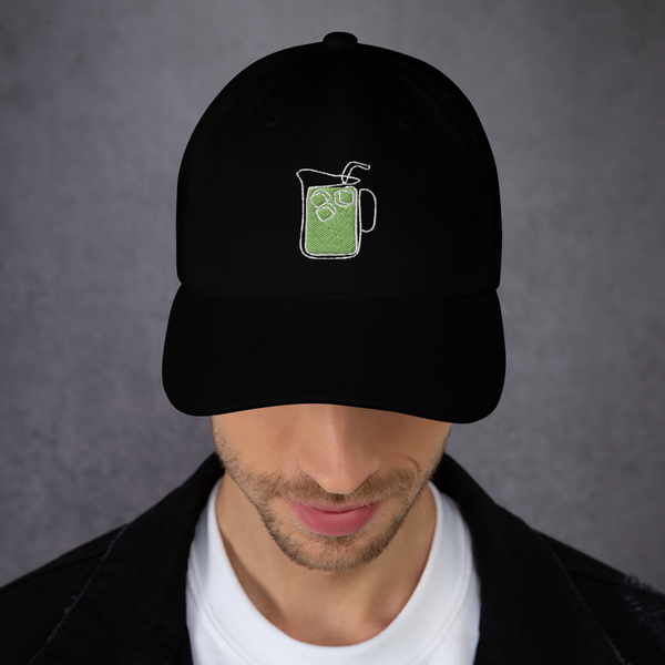"""trash can"" Dad hat"