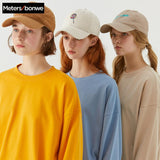 Metersbonwe Casual Solid Color Sweatshirts