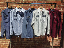 Up-Cycled Blue Collar Work Shirts