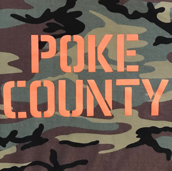 Poke County Camo Shirt