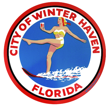 Winter Haven Large Sticker