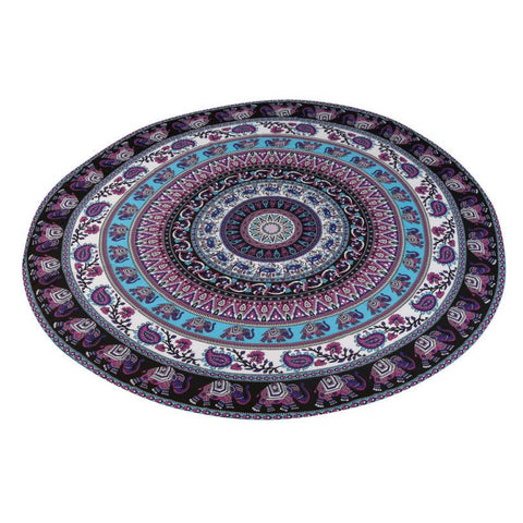 SALE! Mandala Yoga Blanket
