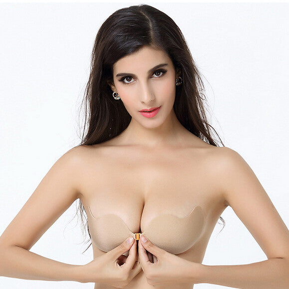 687d8bde01 2017 Hot Sale Free Shipping Sexy woman Push Up Self-Adhesive Silicone Bust Front  Closure