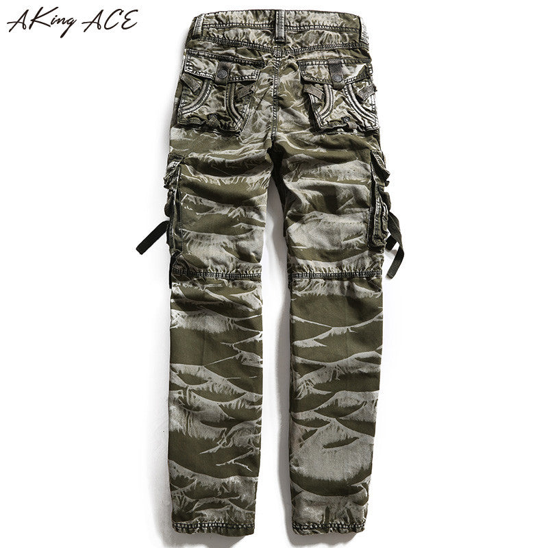 2017 New Aking Ace Mens Camouflage Cargo Pants Men S Army Trousers