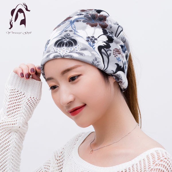08972a9f0fd ... Women Winter Headband Print Elastic Cotton Hair Hat For Girls  classic  fit 3a561 a9f91 AETRENDS 2017 New Winter Baseball Cap Men Dad Hat Warm with  Ear ...