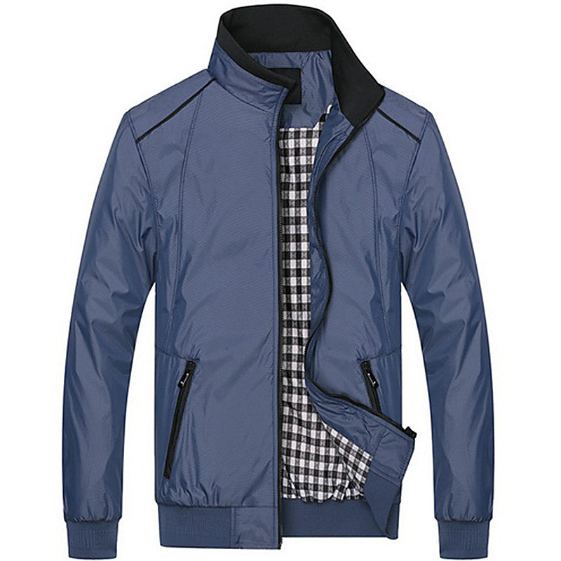 Actionclub Mens Spring Summer Jacket Plus Size Casual Coat New Fall