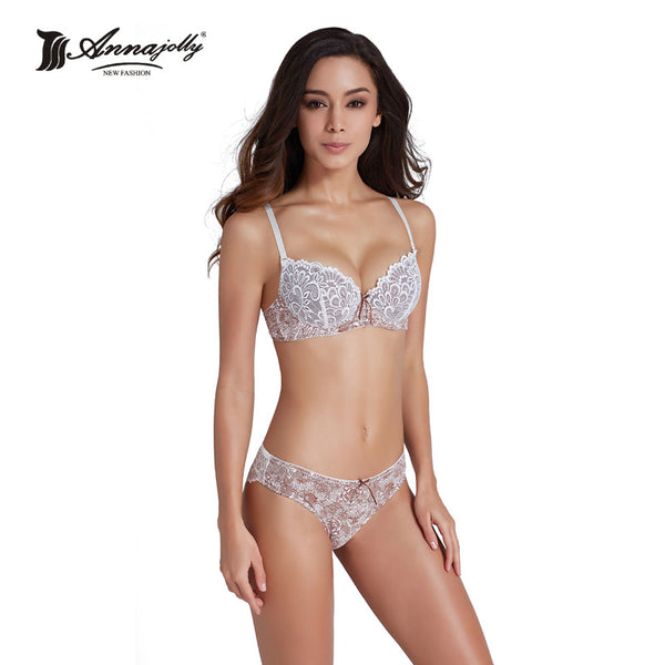 bd86e56dc1a Annajolly Bras And Panties Women Top Bra Sets Sexy Push Up Brassiere P –  LoL-Gift
