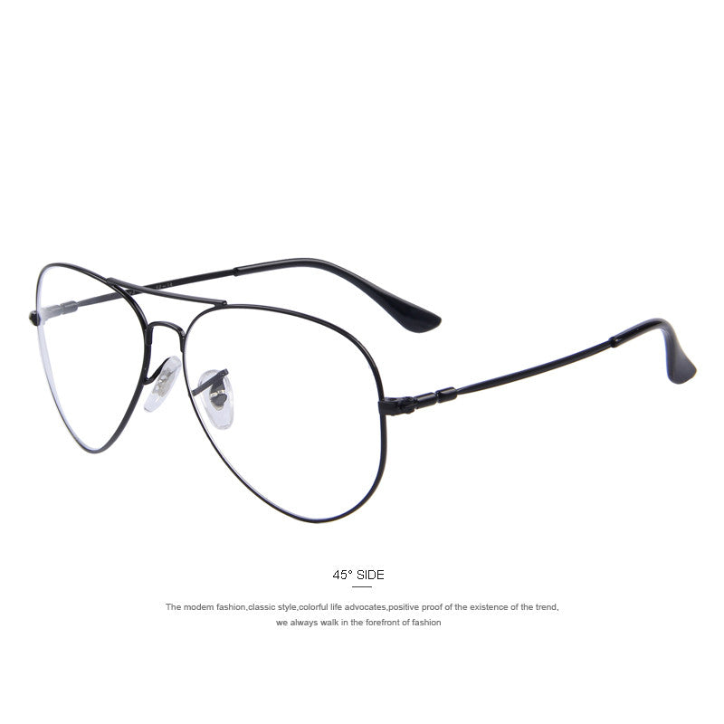MERRY\'S Fashion Men Titanium Eyeglasses Frames Men Brand Titanium ...