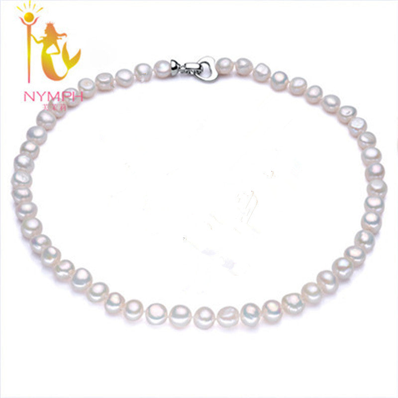 Nymphgenuine baroque pearl jewelry necklace fine jewelry necklaces nymphgenuine baroque pearl jewelry necklace fine jewelry necklaces pendants freshwater pearl stone beads choker necklace womens necklaces aloadofball Gallery