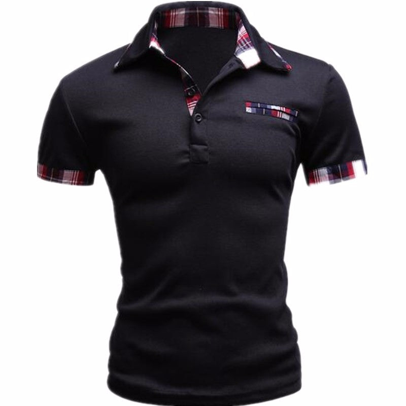 New 2017 Classic Summer Style Short Sleeve Polo Homme Casual Mens Solid Polo  Shirt Brands Logo Cotton Top quality Plus Size - Men s Polo 9fad87c6356e