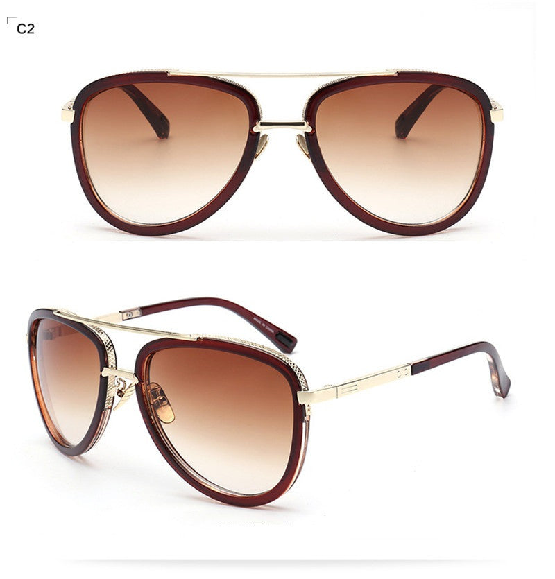 Aviator Sunglasses Women Mirror Driving Men Luxury Brand Sunglasses Points Sun Glasses Shades Femme Glases ywMh2lOCc