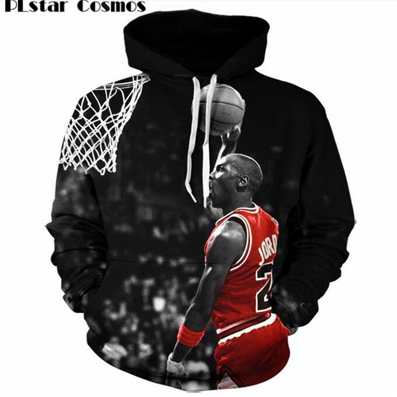 83b7f1fe661 PLstar Cosmos Fashion Jordan Hoodies Men 3d Print Painting Sweatshirt  Designer Men's Sweatshirts Crewneck Men/
