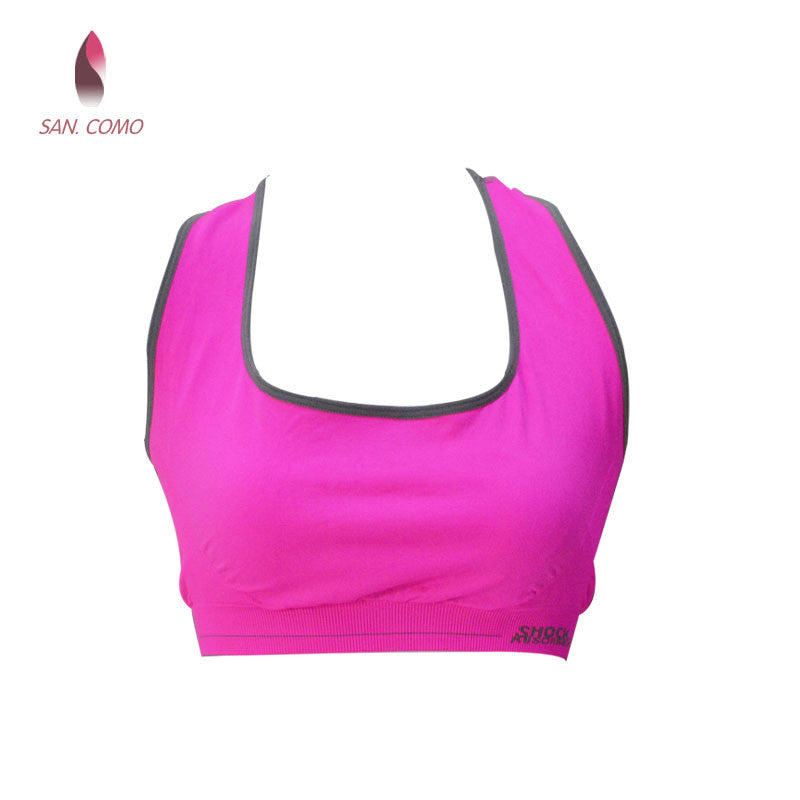 a4af607067c76d COMO 015 Women Seamless Padded Top Fitness Anti-shock Casual Bra Back Cross  Comfortable Stretch Popular Free Size - Women s Camisoles   Tanks