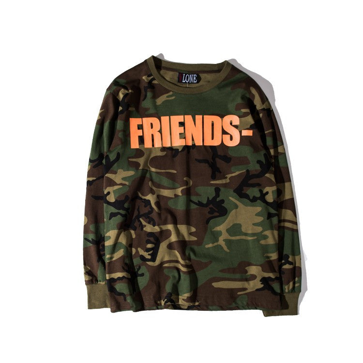 Vlone Sweatshirt Men Women 11 High Quality Off White Virgil Abloh