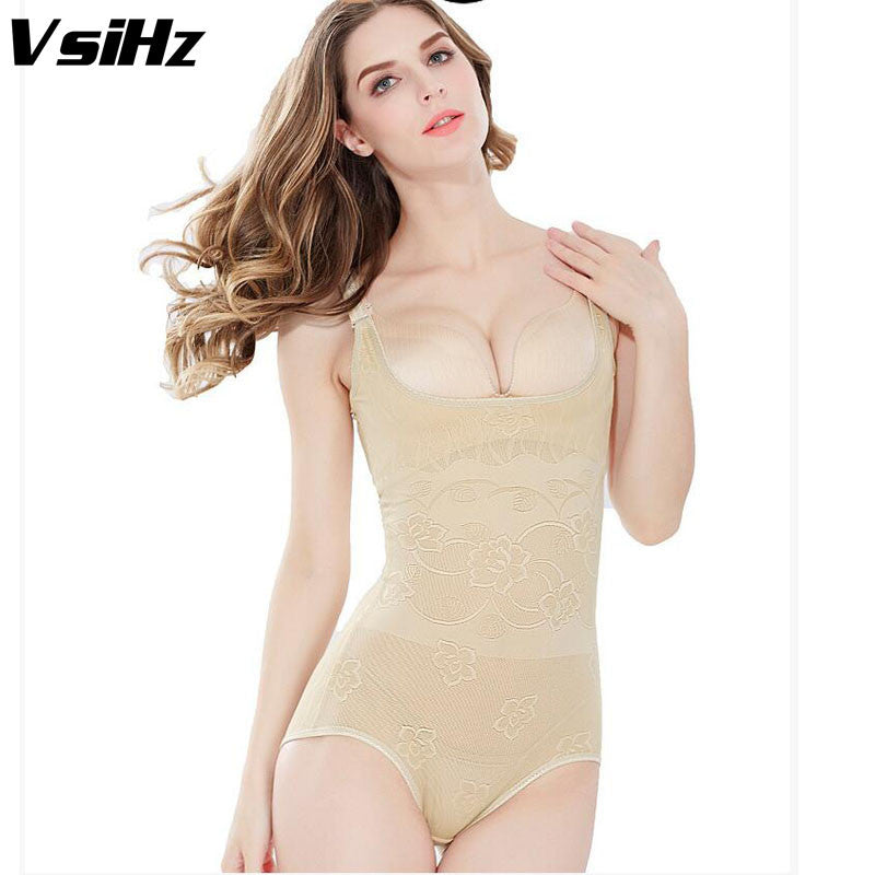 23a527116520 Women Bodysuit Hip open Slimming Underwear for women sexy Body Shaper  Underbust Adjustable Straps Tummy Waist Cinchers Shaper