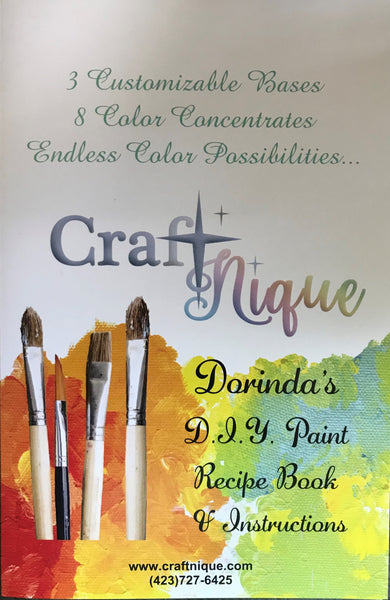 CraftNique DIY PAINT Starter Kit (Pint Size)