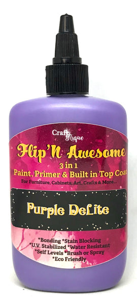 Flip'N Awesome 3 in 1 Paint, Primer & Built in Top Coat