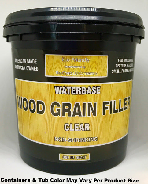CrystaLac Clear Wood Grain Filler