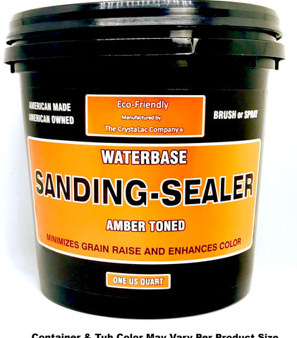 CrystaLac SANDING SEALER / Clear Amber Toned Undercoat