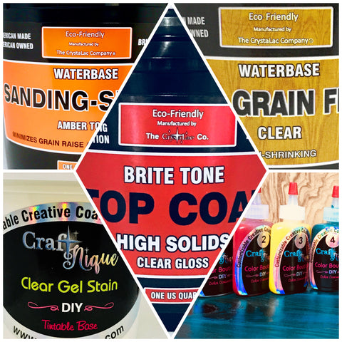 Brite Tone INSTRUMENT Kit PLUS Clear Gel Stain & Color Set