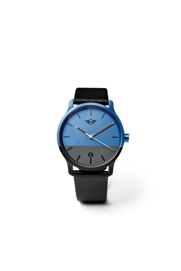 MINI Colour Block Watch island / schwarz