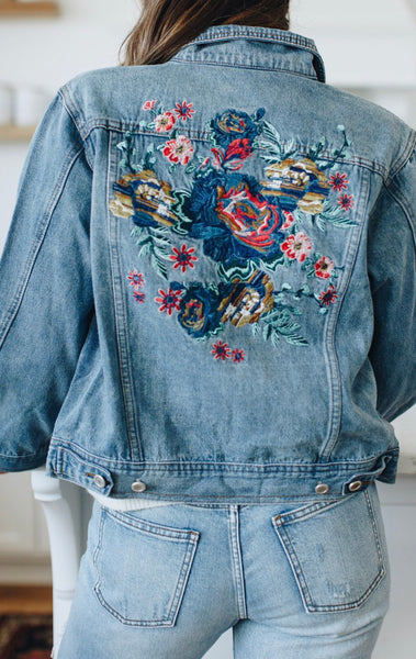 30067e5e15 Oakley Embroidered Denim Jacket