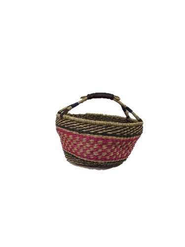 Seagrass Round Bag - VAS11261A (15x8
