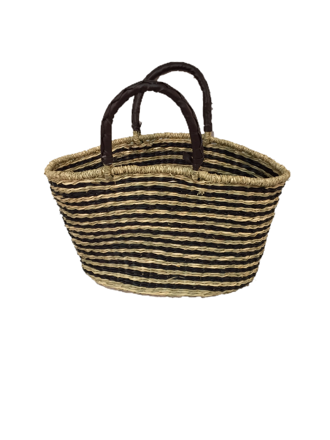 Seagrass Oval Bag - VAS11262C (19x10x11