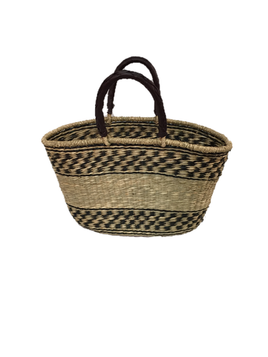 Seagrass Oval Bag - VAS11262D (19x10x11