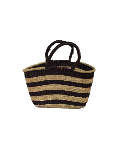 Seagrass Oval Bag - VAS11262E (19x10x11