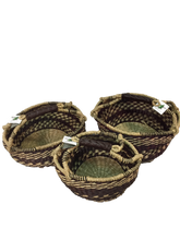 Seagrass Round Bag - VAS11648 - Set of 3