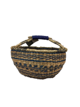 "Seagrass Round Bag - VAS11652 (15x8"")"