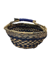 "Seagrass Round Bag - VAS11656 (15x8"")"