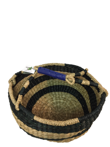 Seagrass Round Bag - VAS11659 (15x8