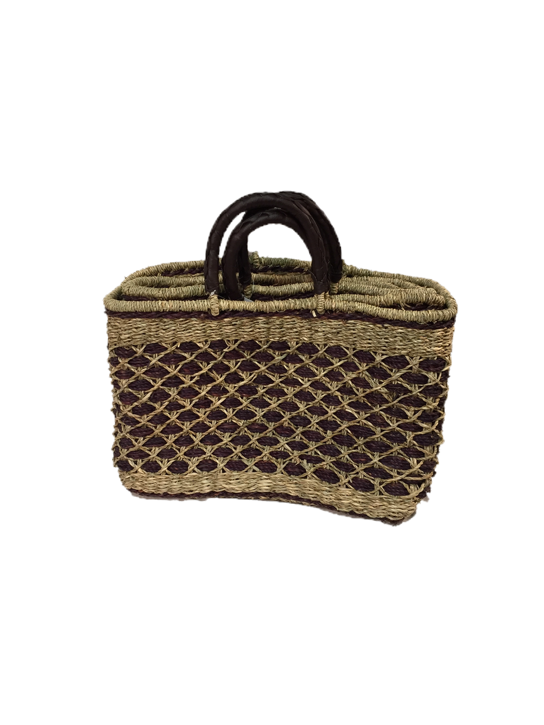 Seagrass Rectangular Bag - VAS11660B