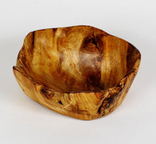 "Hand-Crafted Root Wood Live Edge Bowl - Small (8-9"" x 3-4"")"