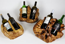 Wooden Wine Holder (Two Bottle)