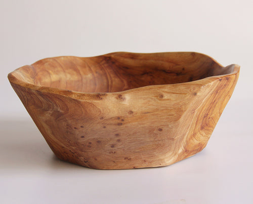 Wooden Bowl - Medium Small (10-11