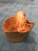 "Hand-Crafted Root Wood Live Edge High Bowl - Medium (10-11"" / 8"")"