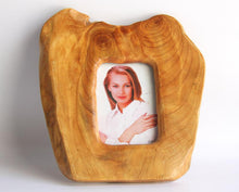 "Hand-Crafted Root Wood Live Edge Picture Frame - 5"" (3x5"")"