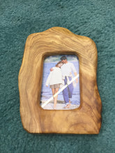 "Hand-Crafted Root Wood Live Edge Picture Frame - 6"" (4x6"")"