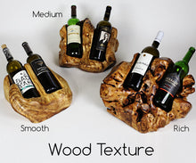 Wooden Wine Bottle Holder - 1