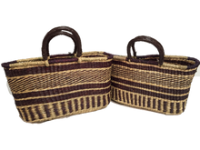 Seagrass Rectangular Bag - Set of 2 or 3 - VAS11641