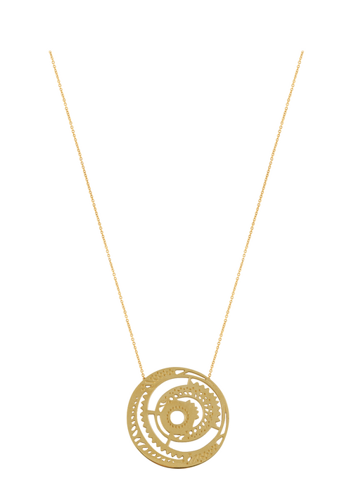 Ascend Signature Disc Necklace